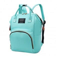 Сумка-рюкзак для мам Camille Mint