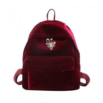 Рюкзак Adel Leopard Red