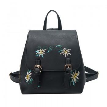 Рюкзак Tessa Flowers Black