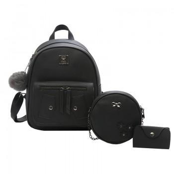 Набор рюкзак сумка 3 в 1 Angelica Tes