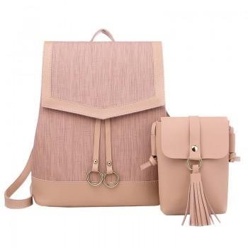 Набор рюкзак сумка 2 в 1 Amelie AV Pink