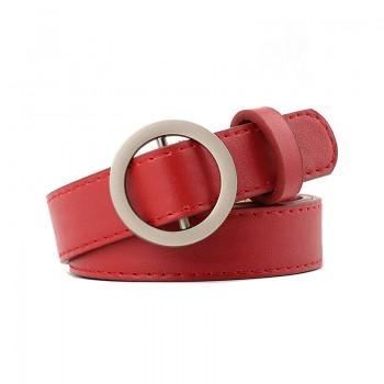 Ремень Aliss Сircle Red
