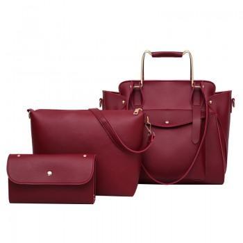 Набор сумок 3 в 1 Amali Cat Red