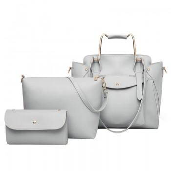 Набор сумок 3 в 1 Amali Cat Gray