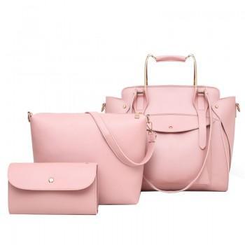 Набор сумок 3 в 1 Amali Cat Pink